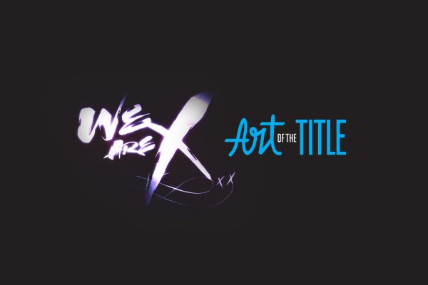 We are X art of title frame