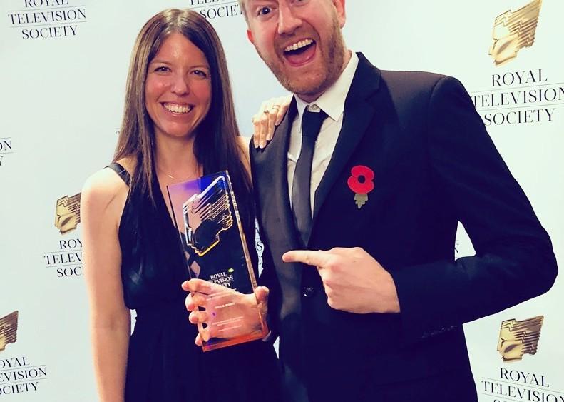 Blue Spill VFX RTS award